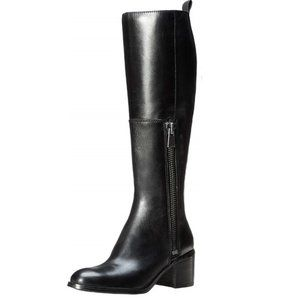 NWT Nine West Olette Riding Boot, Black